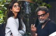SEE PICS: Sonam Kapoor joins Akshay Kumar and R Balki for Padman