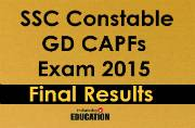 SSC Constable GD CAPFs Exam 2015: Final results likely to be declared by today at ssc.nic.in