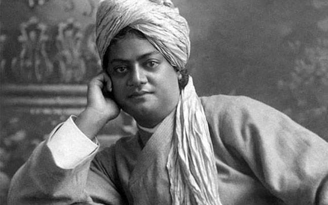 In picture, Swami Vivekananda