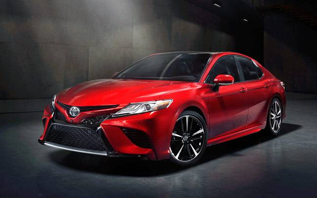 The New Toyota Camry Was Revealed At 2017 Naias
