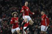 Zlatan Ibrahimovic's late goal earns Manchester United 1-1 draw vs Liverpool
