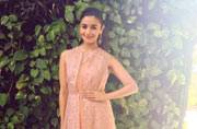 When Alia Bhatt wears pink, it's difficult to take eyes off her