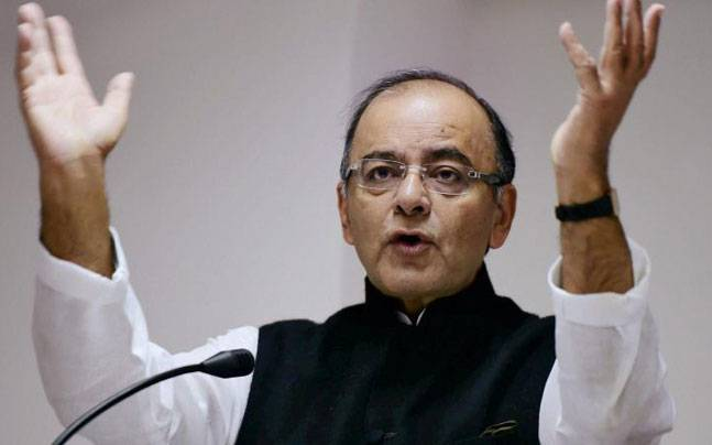 Finance Minister Arun Jaitley. Photo: PTI.