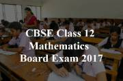 CBSE Class 12 Maths Board Exam 2017: New concept introduced this year