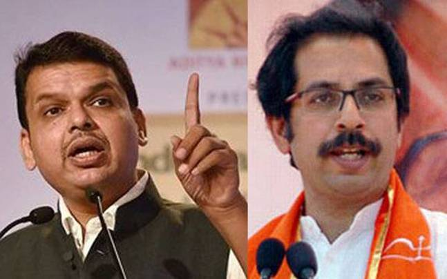 Fadnavis and Uddhav Thackeray.