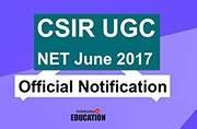 CSIR UGC NET 2017 official notification released at csirhrdg.res.in