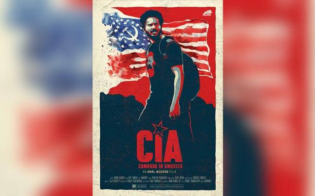 Dulquer's CIA poster