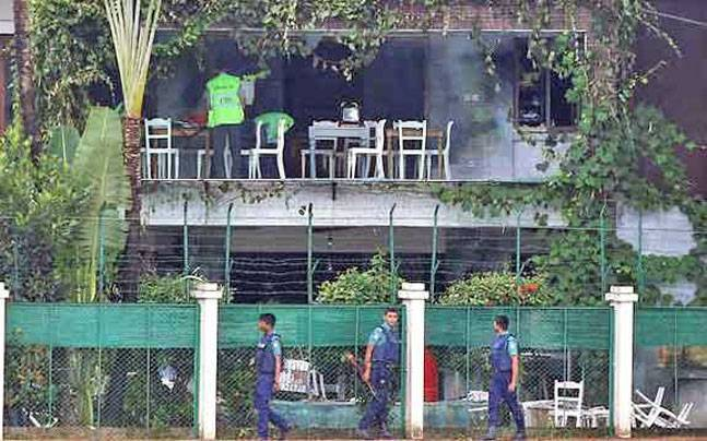 The Gulshan Cafe was attacked by armed militants in July 2016
