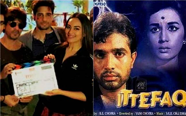 Ittefaq Remake Shah Rukh Gives A Thumbs Up To Sonakshi Sidharths