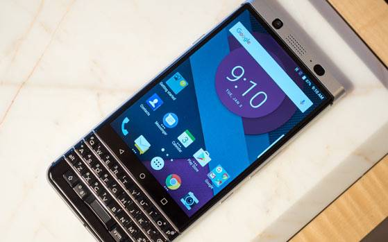 Blackberry Mercury with Android and QWERTY Keyboard to