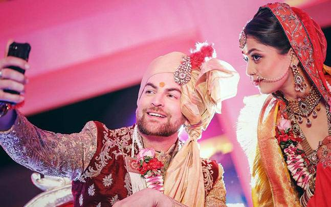 Image result for Neil Nitin Mukesh, rukmini marriage