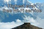 Free Wi-Fi at Everest Base Camp soon!