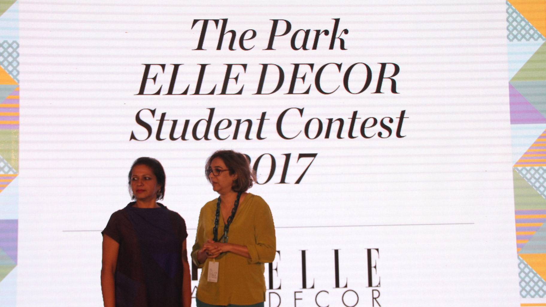 India Design ID 2017: Winners of The Park Elle Décor student contest felicitated