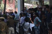 Ramjas College violence: DU professor, journalists injured in clashes between student groups