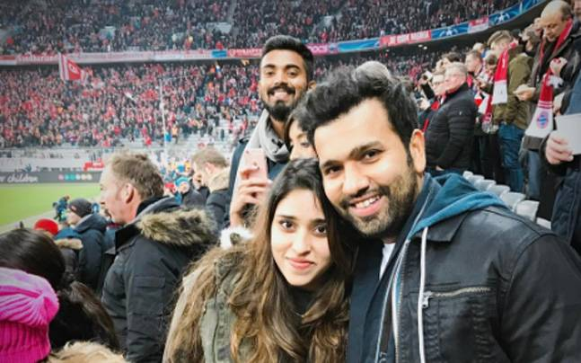 Kl Rahul Insta: Rohit Sharma And Wife Ritika Were In Munich To Watch
