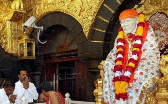 No impact of note ban on offerings at Shirdi Saibaba temple