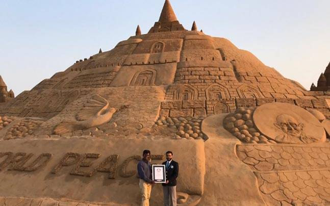 Picture courtesy: Twitter/@sudarsansand
