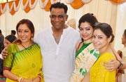 TV celebs attend Saraswati Puja at Anurag Basu's residence