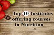 Top institutes offering courses in Nutrition Science