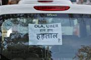 Court sides with Uber and Ola but cabs yet to return to Delhi roads