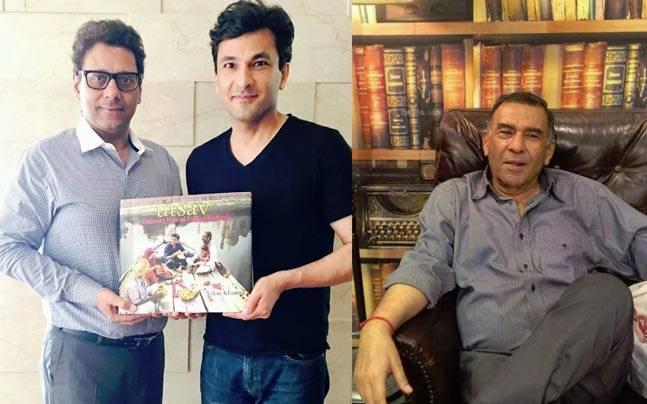 Vikas Khanna's magnum opus, Utsav, was just auctioned for Rs 30 lakhs. Picture courtesy: Facebook/Vikas Khanna