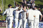 2nd Test: New Zealand pacers dent South Africa after Henry Nicholls' maiden hundred