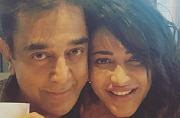 SEE PIC: Shruti snapped with daddy dearest Kamal Haasan in London
