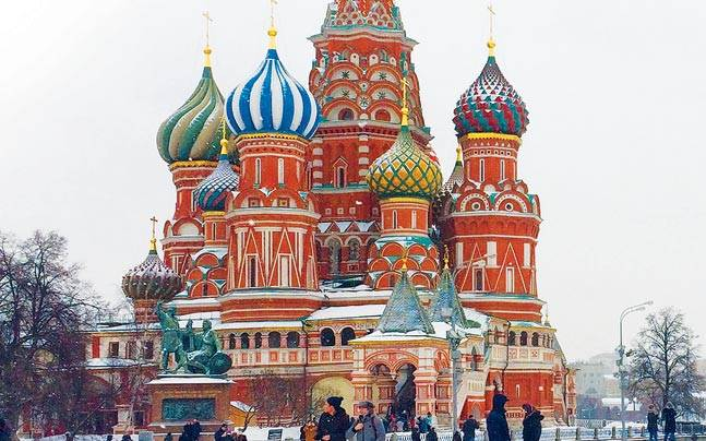Moscow's winter is beautifully rendered in brisk bold strokes in Kanwal Sibal's poems. Photo: Mail Today