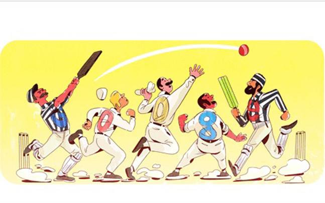 Google Doodle Celebrates 140 Years Of Test Cricket Sports News