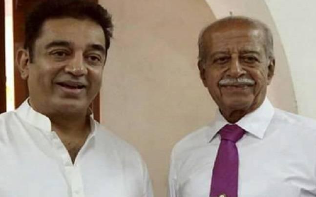 Kamal Haasan and Chandrahasan