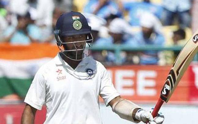 Cheteshwar Puajra (AP Photo)
