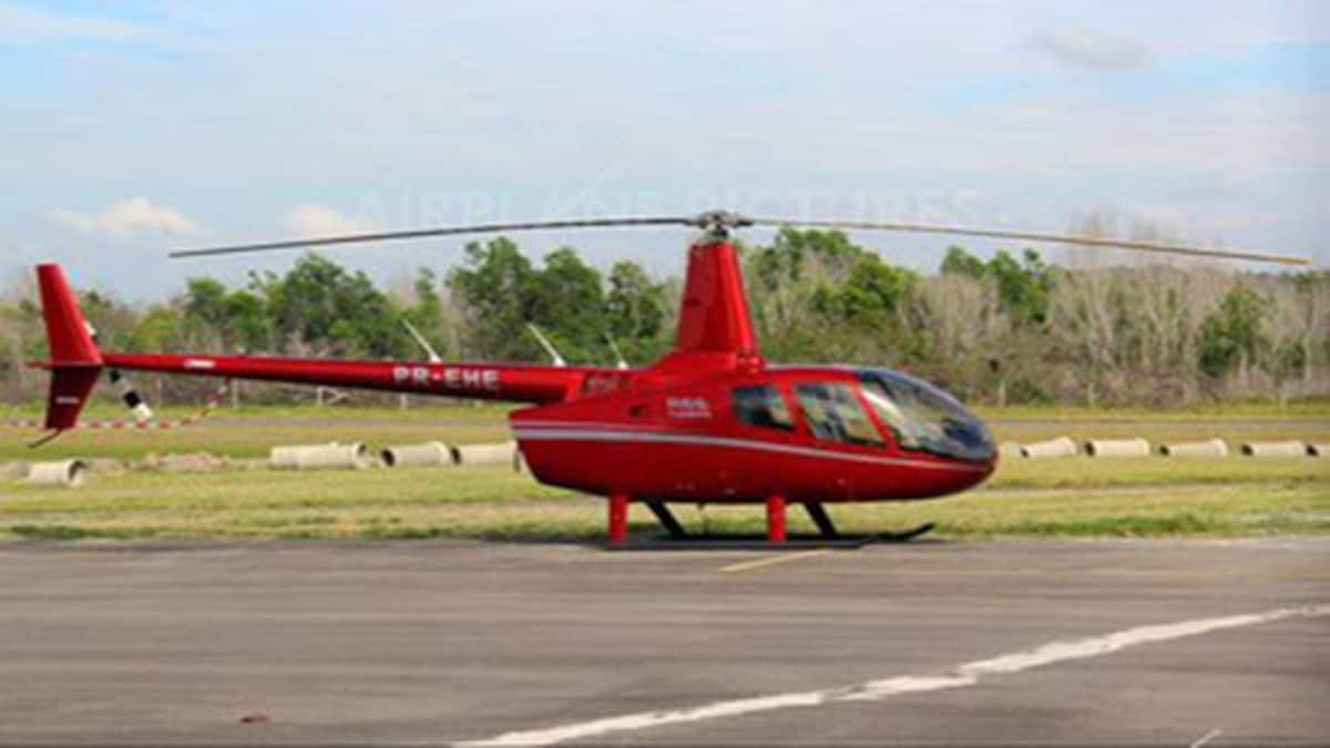 Helicopters man mini one Home Built