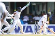 Bangladesh lose late wickets after Dinesh Chandimal ton