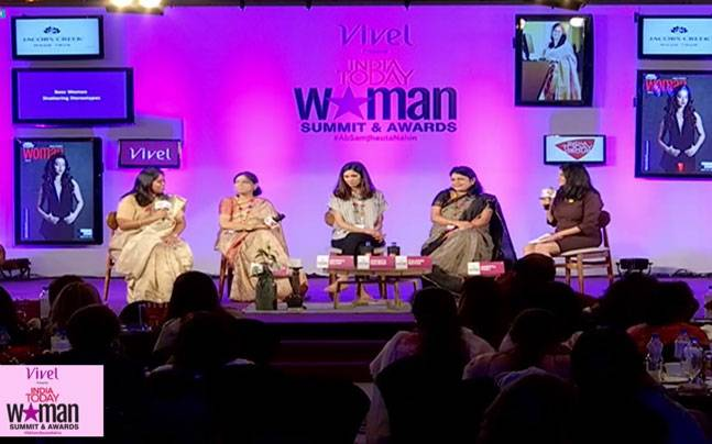 Panel on boss women