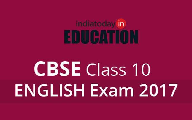 CBSE Class 10 English examinations will be conducted on March 30