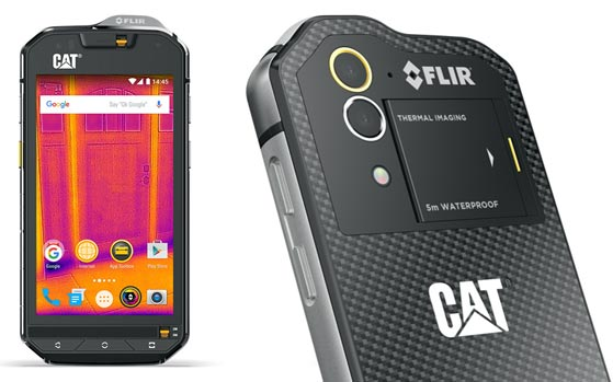 Cat S60 Is The World S First Smartphone With A Thermal Camera Built In