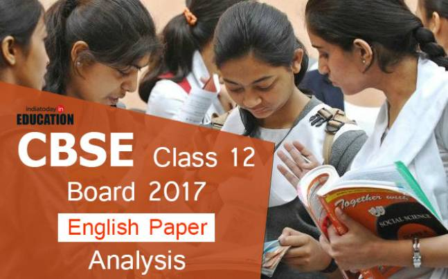 CBSE Class 12 Board 2017: English paper analysis