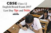 CBSE Class 12 English Board Exam 2017 tomorrow: Last day tips and points to remember