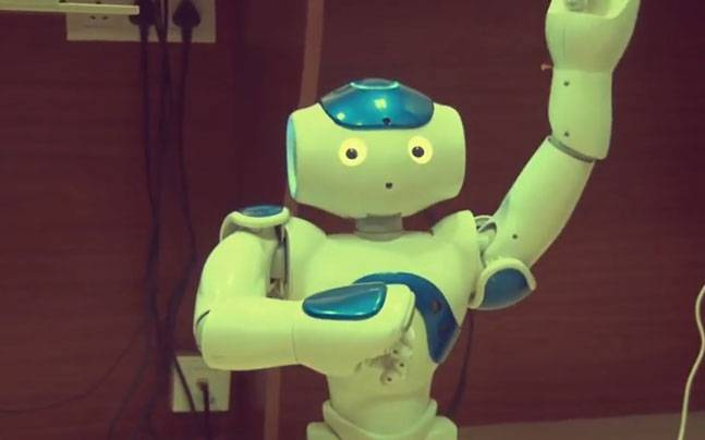 Meet Chintu, MIT Pune's robot for the elderly. (Image: YouTube screengrab)