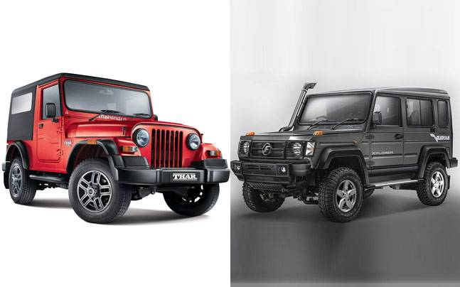 2017 force gurkha vs mahindra thar auto news 2017 force gurkha vs mahindra thar altavistaventures Images