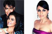 Kajol and Ajay Devgn avoid Rani Mukerji. Another fight?