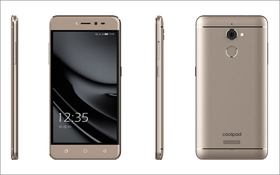 Coolpad Note 5 Lite with 3GB RAM, front LED flash launched