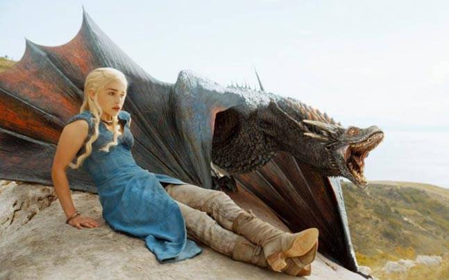 Game of Thrones dragons are the size of 747s in season 7. Picture courtesy: Facebook/GameOfThrones