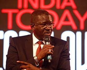 Elhadj at the India Today Conclave 2017