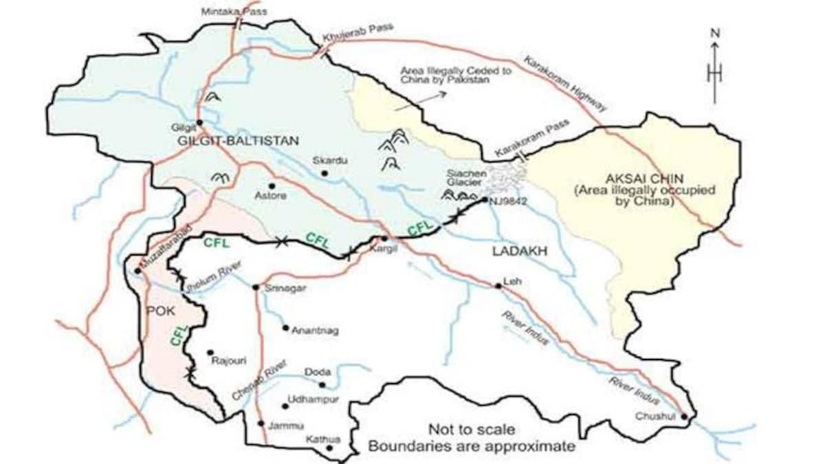 Gilgit-Baltistan: How region 6 times the size of PoK ped on to ... on sri lanka border india, burma border india, ladakh border india, pakistan border india, tajikistan border india,