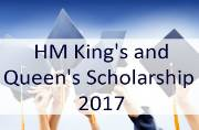 HM King's and Queen's Scholarship 2017: Check if you're eligible to apply