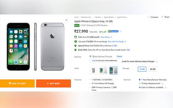 Iphone 6 release date in india and price