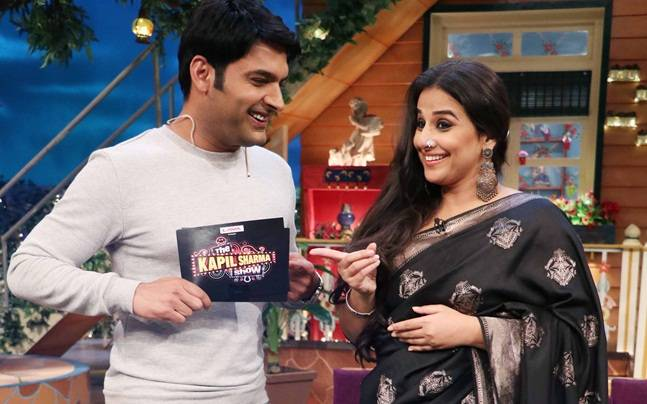 Vidya Balan promote her upcoming film Begum Jaan on The Kapil Sharma Show.