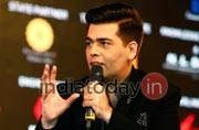 Karan Johar at the India Today Conclave 2017