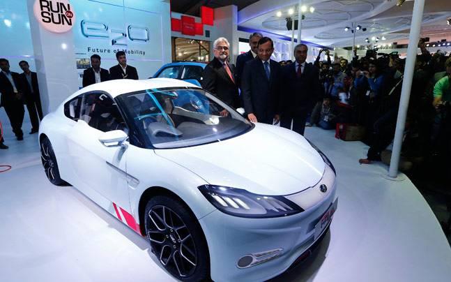 Mahindra Pininfarina To Take On Tesla With New Electric Sports Car